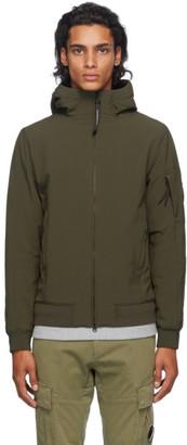 C.P. Company Khaki Nylon Hooded Jacket