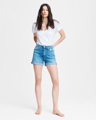 Rag & Bone Nina high-rise short
