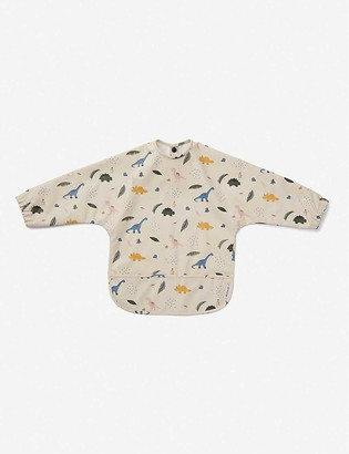 Liewood Merle leopard-print recycled polyester cape bib