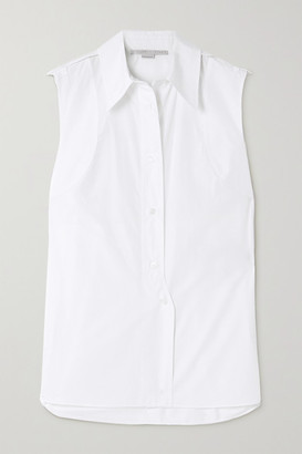 Stella McCartney Talla Cotton-poplin Shirt - White