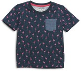Sovereign Code Boys' Flamingo Print Pocket Tee - Baby