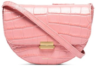 Wandler Anna crocodile-effect belt bag