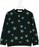 Stella McCartney glitter star print sweatshirt