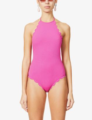 Marysia Swim Mott scallop-trimmed swimsuit