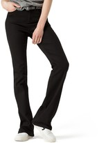 Tommy Hilfiger High Waist Slim Flared Sateen Pant
