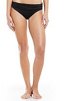 LaBlanca La Blanca Island Goddess Solid Shirred Banded Hipster Bottom