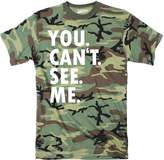 Crazy Dog T-shirts Crazy Dog Tshirts Mens You Cant See Me Funny Hiding Hunting uflage T shirt