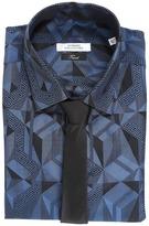 Versace Printed Button Down Shirt