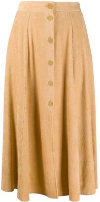 Forte Forte High-Waisted Ribbed Skirt