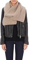 Barneys New York Women's Cashmere Zigzag-Stitched Scarf