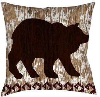 "Millwood Pines Amsterdam Outdoor Pillow Cover & Insert Size: 20"" H x 20"" W x 5"" D"