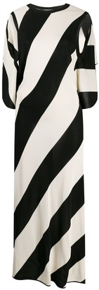Stella McCartney Striped Open-Back Knitted Dress