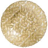 Vietri Nature Glass Large Leaf Bowl