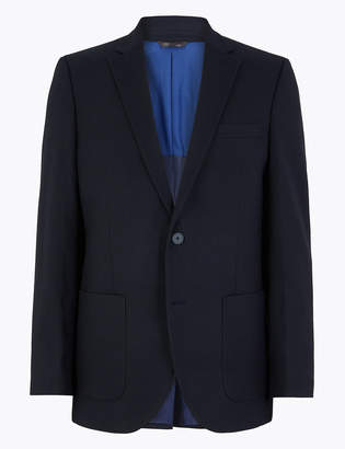 M&S CollectionMarks and Spencer Big & Tall Navy Regular Fit Jacket