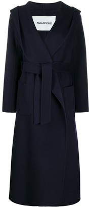 Ava Adore Double-Breasted Belted Coat
