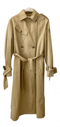Lala Berlin Beige Cotton Coats