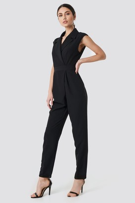 NA-KD Collared Waistband Jumpsuit