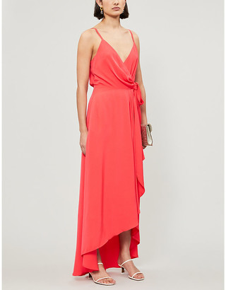 Ted Baker Wrap crepe midi dress