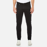 Edwin Men's Ed85 Slim Tapered Drop Crotch Jeans - Rinsed Ink Black