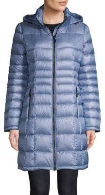Calvin Klein Zip-Front Packable Puffer Jacket