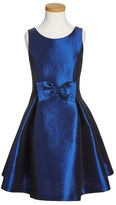 Soprano Girl's Satin Skater Dress