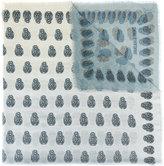Zadig & Voltaire skull print scarf - men - Modal - One Size