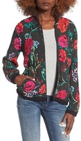 Obey Women's Jinx Reversible Bomber Jacket
