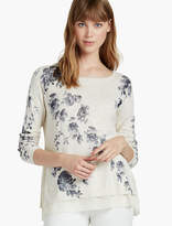 Lucky Brand Placed Floral Pullover