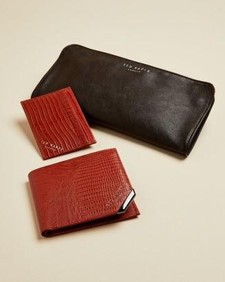 Ted Baker OLIMP Leather wallet and cardholder gift set