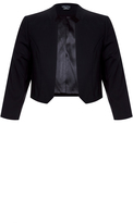 City Chic Notch Bolero Jacket
