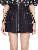 Kenzo Women's Zip-Front Mini Skirt