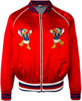 Gucci Donald Duck embroidered bomber jacket - men - Silk - 50