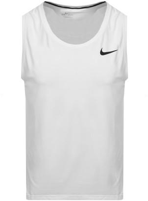 Nike Training Pro Vest T Shirt White