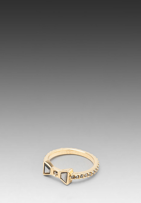 Marc by Marc Jacobs Polka Dot Tiny Bow Ring