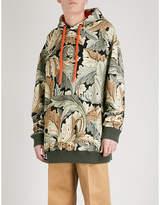 Loewe x William Morris Acanthus-print cotton-jersey hoody