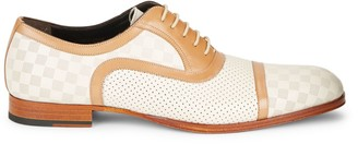 Mezlan Two-Tone Leather Shoes