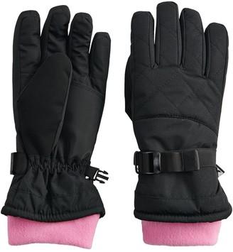 ZeroXposur Girls 4-16 Ski Gloves