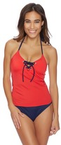 Nautica Topsail Lace Up Tankini