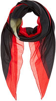 Givenchy MEN'S SKULL-PRINT TWILL SCARF