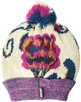 Muk Luks Women's Happy Glamper Beanie-Secret Floral