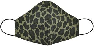 Pinko Leopard Print Face Mask