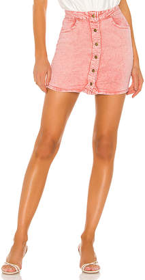 superdown Ada Button Up Skirt. - size L (also