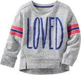 Osh Kosh Graphic Sweatshirt (Toddler/Kid) - Loved-5T