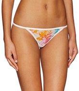 Calvin Klein Women's Sheer Marquisette Bikini String Panty
