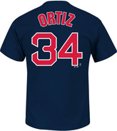 Majestic Men's David Ortiz Boston Red Sox Official Player T-Shirt