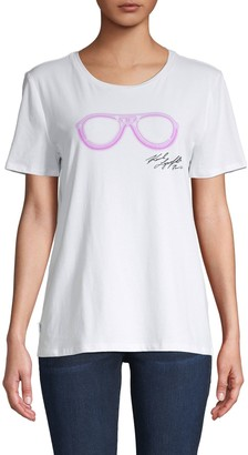 Karl Lagerfeld Paris Neion Sunglasses Tee