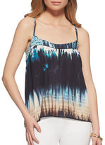 Jessica Simpson Minette Printed Sleeveless Top