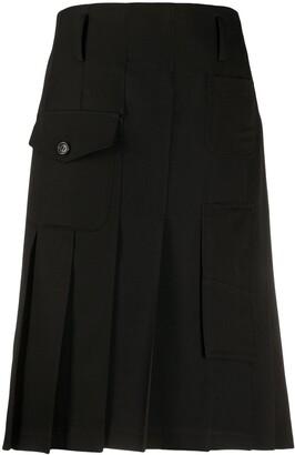 Comme des Garçons Comme des Garçons Pleated Utility Pocket Skirt