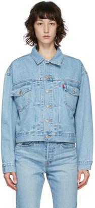 Levi's Levis Blue Denim Heritage-Fit Trucker Jacket