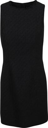 Balmain Fitted Tweed Dress